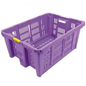 contenitore in plastica viola