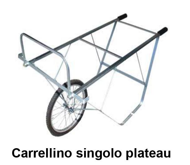 Carrellino singolo plateau